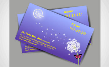 Name card eg print johor bahru professional printing services 260 gsm artcard matt lam hot stamping silver reheart Image collections